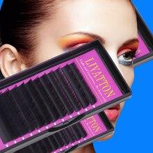 blink makeup false eyelash mixed length j c b d curl 0 10 0 15 0 20 0 25mm thick for eyelash extension individual mink eyelashes 12 Rows/Tray 8/9/10/12/13mm 3D Individual False Eyelashes J/B/C/D Curl Eyelash Extension Makeup Tools
