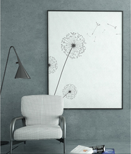 Настенная Картина на холсте нордическая минималистическая картина