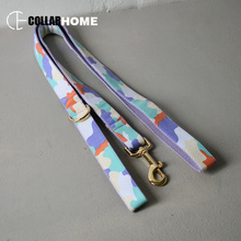 gold bow dog collar leash adjustable necklace with tie for small big dogs factory price camouflage element pet cat straps