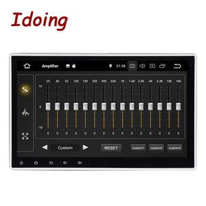 """Image 2 - Idoing10.2""""PX6 4G+64G Android 10 For Universal Car GPS DSP Radio Player IPS Screen Navigation Multimedia Bluetooth No 2 Din DVD"""