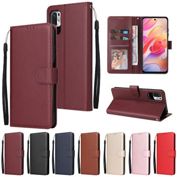 Flip Wallet Case for Xiaomi Redmi 10 9 9A 9C 9T 8 8A 7 7A Note 10 9 8 7 Leather Case For Xiaomi Poco X3 F3 M3 Pro Protect Cover 1