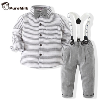 Baby Boy's Striped Clothing 2 pcs/Set 1