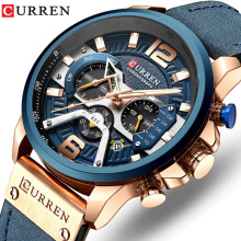 Curren Sport Wristwatch Military Top-Brand Luxury Men Erkek Quartz Saat Relogio Masculino