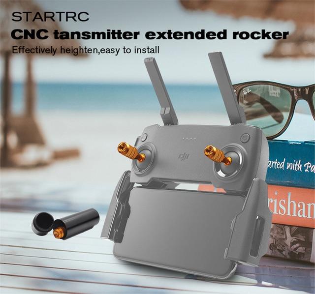 Аксессуары DJI mavic mini, запасные части, 2 шт., пульт дистанционного управления с ЧПУ, трость для большого пальца, защитный чехол для хранения