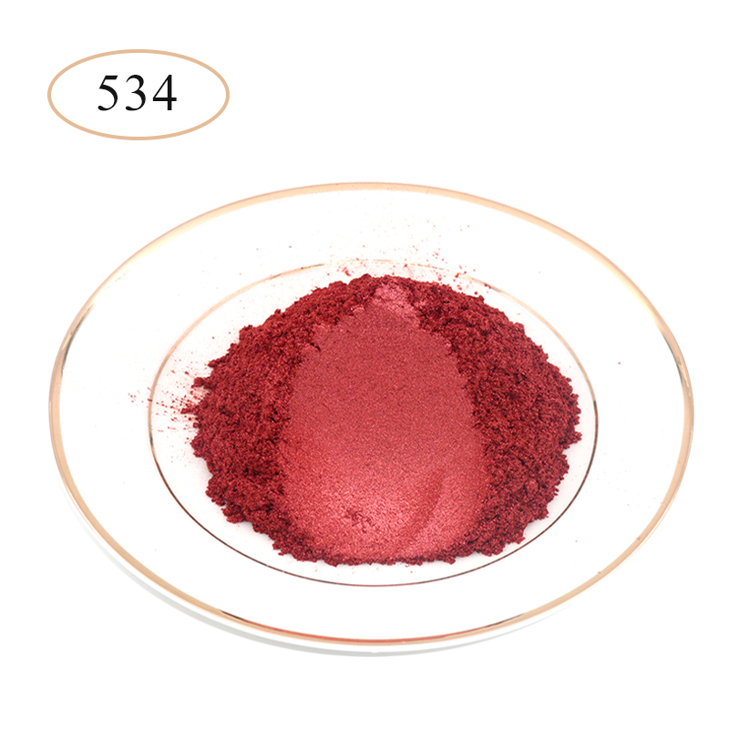 Pearl Powder Coating Mineral Mica Dust DIY Dye Colorant 50g Type 534 For Soap Eye Shadow Cars Art Crafts Acrylic Paint Pigment
