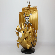Anime One Piece MEGA World Collectable Figure SPECIAL Monkey D Luffy Thousand Sunny PVC Action Figures Collectible Model Toy anime one piece thousand sunny pirate ship figure 35cm thousand sunny boat ship pvc action figures toys collectible model toy
