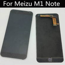 Tested AAA Quality For Meizu M1 NOTE LCD Display +Touch Screen Replacement Screen Give Glass Film цена и фото