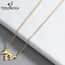 цена на Todorova Stainless Steel Lakes Michigan State Necklace Great Lakes Home Charm Necklace Illinois Gift Lakes Erie Huron Ontario