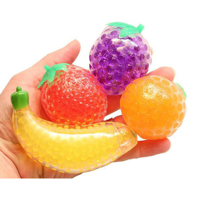 Fruit Jelly Water Squishy Fidget Toy Weird Stuff Funny Things Stress Reliever Toys For Adult Kids Novelty Gifts