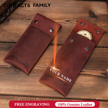 Genuine Leather Watch Case Pouch Collection Protection Watch Storage Box Watch Protect Soft Bag Watch Collect Boxes Case Travel
