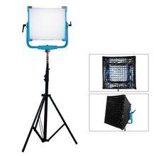 200W AI 2000C RGB Светодиодная панель с 12 световыми эффектами, освещение с высокой яркостью, управление через приложение, фотостудия, съемка фильмов