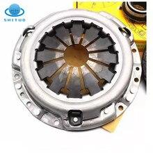 Для Geely Panda GX2 1.5L двигателя авто двигатель Запчасти крышка дисковый тормоз выжимного подшипника в сборе 3 шт/комплект сцепления Давление плас...