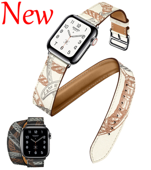 milanese loop strap for apple watch 4 5 band 44mm 40mm iwatch 3 2 band apple watch 42mm 38mm correa pulseira watch accessories Strap Double Tour Bracelet Apple Watch 5 4 Accessories 44mm 40mm Correa Iwatch 42mm 38mm 5 4 3 2 Leather for Apple Watch Band
