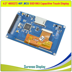 "Image 4 - 4,3 ""480*272 SSD1963 Kapazitive/Resistive Touch 16_Bit MCU TFT LCD Modul Display Panel"