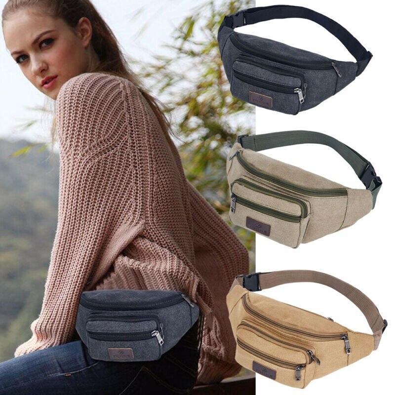 Unisex Waist Packs Running Belt Bag Sport Jogging Key Mobile Money Bum Bag Waist Travel Pouch /BY