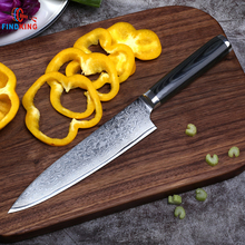 FINDKING new VG10 handle damascus knife 8 inch chef knife 71 layers damascus steel kitchen knives  cooking tools