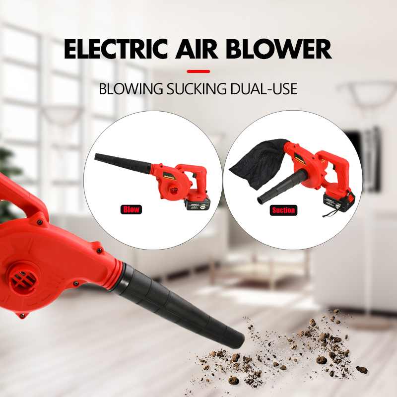 Cordless Electric Air Blower Blowing Sucking 10000/19800mAh Lithium Battery Dual-use Dust Computer Cleaner Electric Turbo Fan