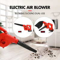Cordless Electric Air Blower Blowing Sucking 10000/19800mAh Lithium Battery Dual use Dust Computer Cleaner Electric Turbo Fan