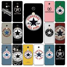 Lvtlv Fashion Merek Converses Semua Bintang Hitam TPU Soft Phone Case Cover untuk Redmi Note 4 5 6 7 5A 8 8Pro Xiaomi Mi Mix2s Case(China)