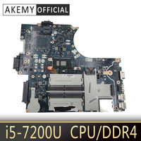 Akemy For Lenovo Thinkpad E570 E570C CE570 NM-A831 Laotop Mainboard NM-A831 Motherboard with i5-7200U CPU