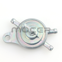 Scooter Moped Fuel-Valve 125cc Vacuum-Fuel Gy6 50cc for Chinese Petcock ATV 1pcs Inline