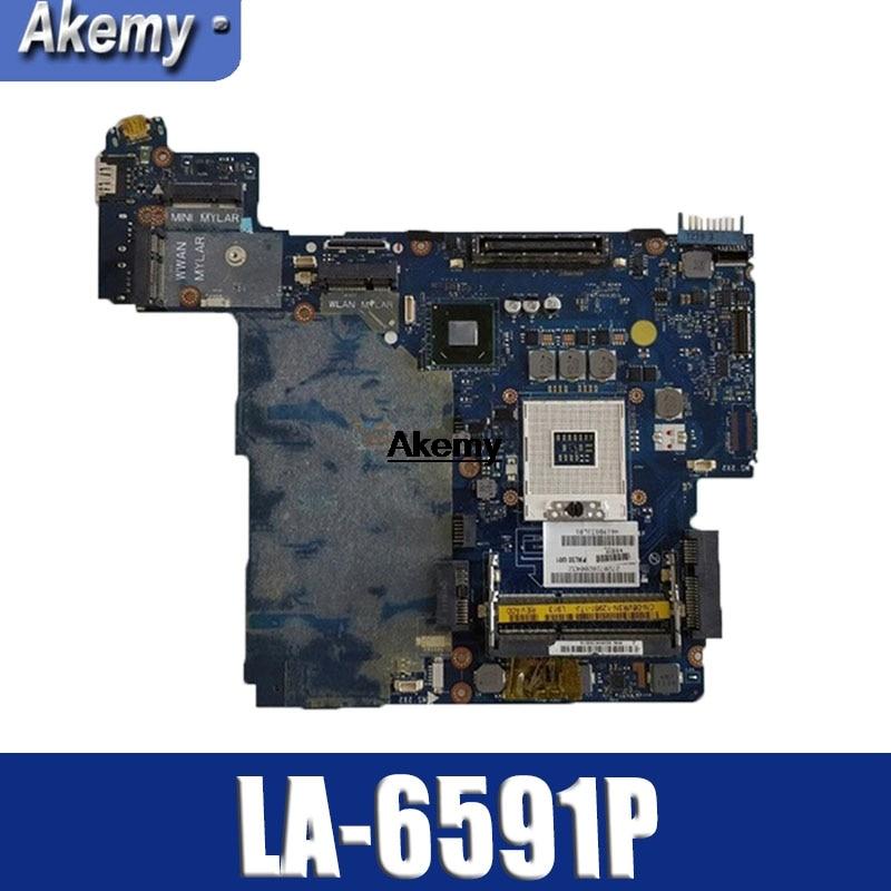 For Dell Latitude E6420 Laptop Motherboard PAL50 LA-6591P CN-07TR3J 0Y1KMR Motherboard Tested 100% Work