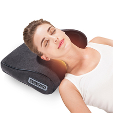 Multi-function Infrared Heating Neck Shoulder Back Body Multifunctional Massage Pillow Cervical health jinkairui infrared heating neck shoulder back body electric massage pillow shiatsu device cervical health massageador relaxation