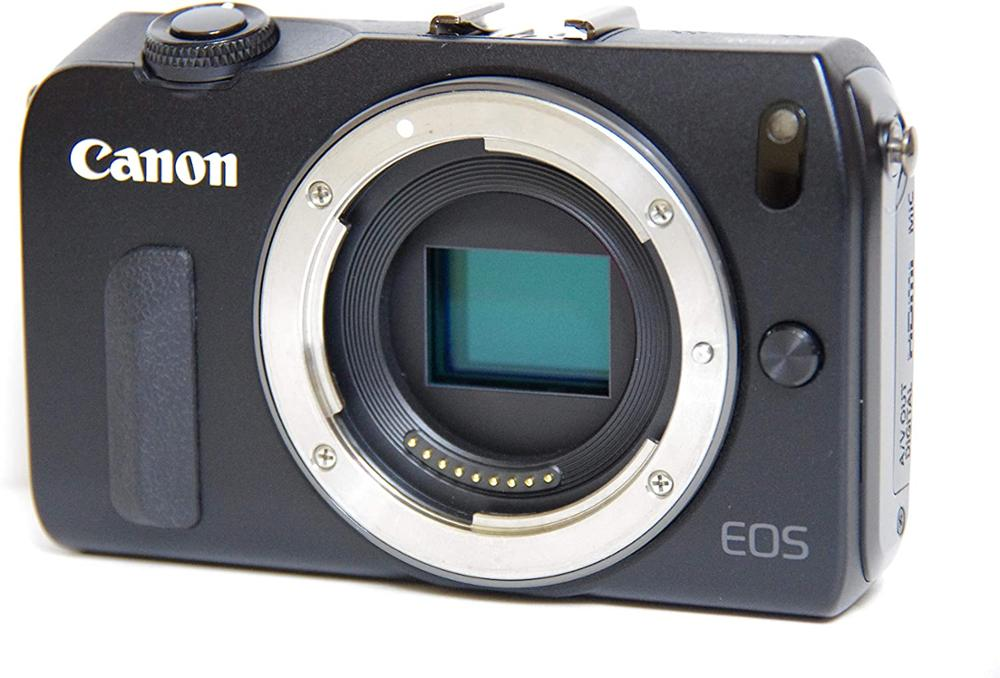 USED Canon EOS M Compact System Camera -Black/White- Body Only