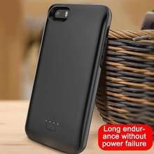 Macio magro caso carregador de bateria para o iphone 5 5S se 5S caso banco ultra bateria backup de carregamento carregador de energia externa capa l6k3