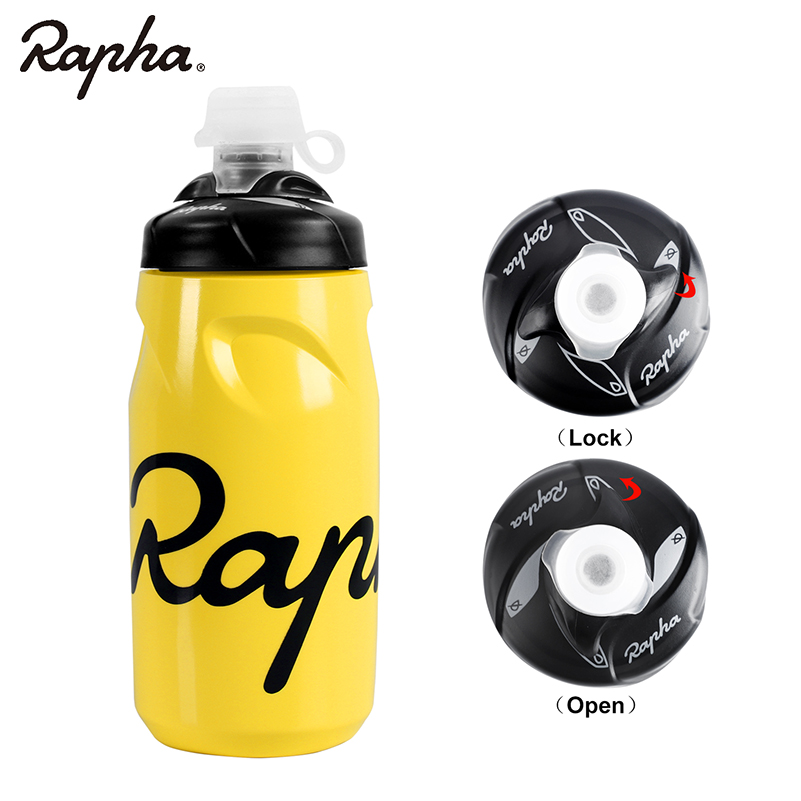 Rapha Bicycle Water Bottle 620ML 750ML Lockable Cycling Running Outdoor Mountain Road Leak proof PP Cycling Bike Water Bottle in Bicycle Water Bottle from Sports Entertainment