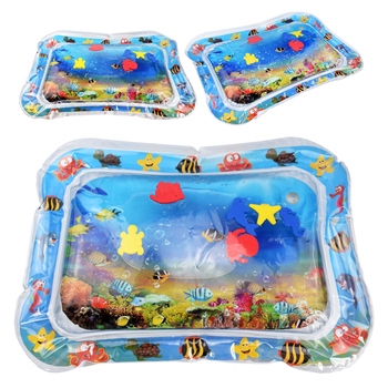 Baby Water Mat Inflatable Cushion Infant Toddler Water Play Mat for Children Early Education Developing Baby Toy Summer Toys 2