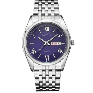 Image 2 - OUBAOER montre hommes mode Sport Quartz horloge hommes montres Top marque luxe affaires montre femmes reloj hombre Relogio Masculino