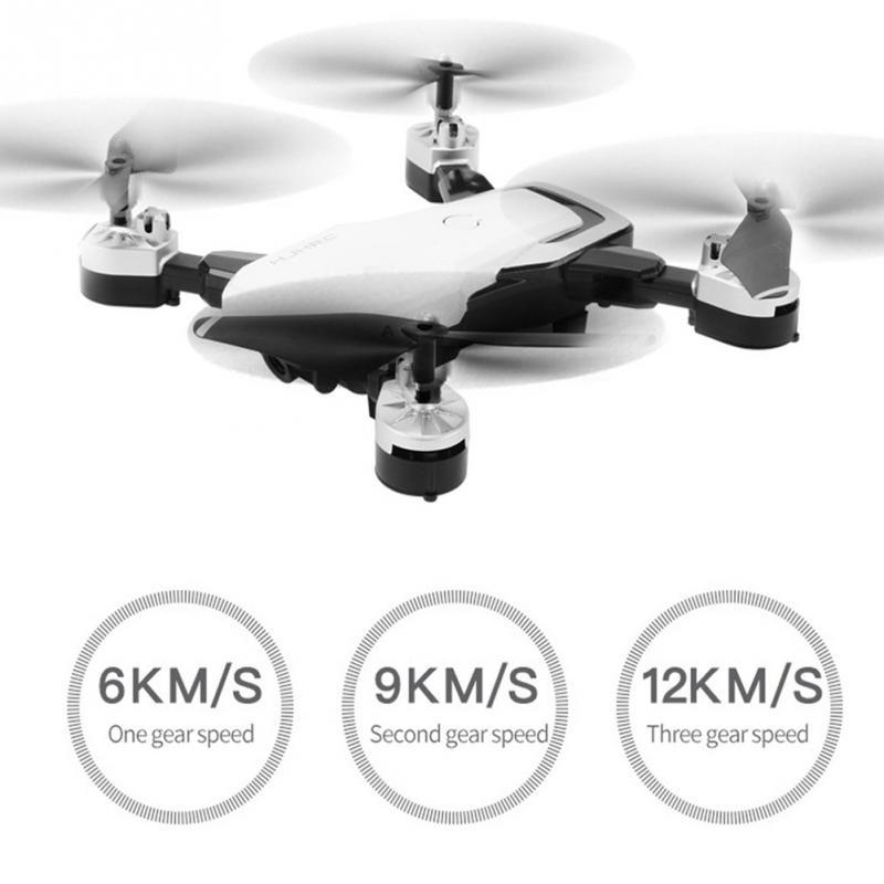 5MP//1080P WIFI FPV Wide Angle Camera Altitude Hold Mode Foldable Drone Silver US