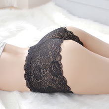 CMENIN NEW Plus Large Size women sexy lace panties Vintage Lace Elastic large invariant Hollow briefs girl sexy underwear P0045(China)