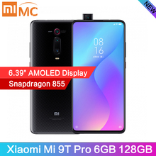 """Оригинальный Xiaomi Mi 9T Pro 6 ГБ 128 мобильный телефон Snapdragon855 48MP AI Камера 4000 мА/ч, 6,39 """"AMOLED, глобальная версия, В наличии"""
