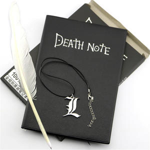 Journal Necklace Note-Pad Gift A5 Anime for D40 And