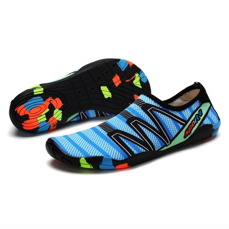 Men Women  Aqua Shoes Sneakers Quick Dry Swimming Footwear Unisex Outdoor Breathable Upstream Beach Shoes 9