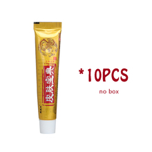 10PCS YIGANERJING Pifubaodian Original Psoriasis Dermatitis Eczema Pruritus Skin Problems Cream With Retail Box Hot Selling