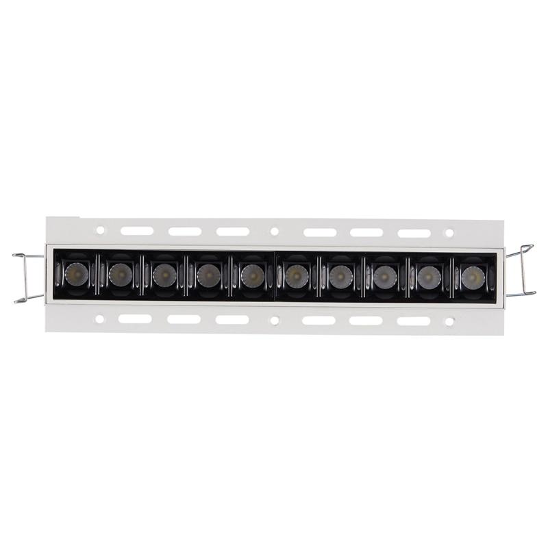 Высокая контрастность высокая визуальная лампа TrImless 20 Вт 30 Вт LED потолочное линейное освещение Fixutre 2 Вт блоки мульти-прожектор с бликом бесп... title=