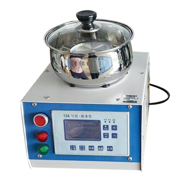 Laboratory Compact Spin Coater / Spin Processor EZ4 + Oil-free Vacuum Pump + VACUUM SPIN CHUCK 110V/220V