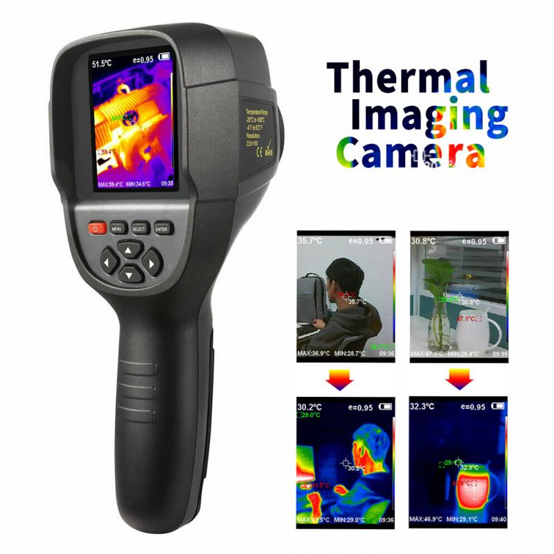 HT-18 Digital Imager Thermal Camera With Protective Cover And Infrared Imaging Sensor 7