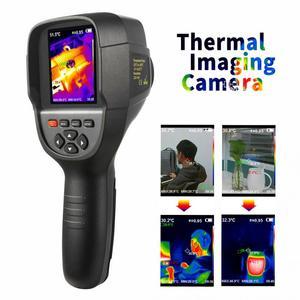 Image 2 - HT 18 ręczny IR cyfrowy kamera termowizyjna kamera detektora podczerwieni temperatura ciepło FLIR wysokiej rozdzielczości skaner diagnostyczny samochodu