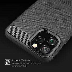 Image 5 - Funda de silicona suave para iPhone, carcasa de fibra de carbono para iPhone X XR XS 11 Pro max 6 6s 7 8 plus
