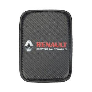 Image 3 - Auto Console Centrale Armsteun Zachte Pad Kussen Mat Voor Renault Koleos Stofdoek Megane 2 Auto Seat Box Padding Beschermende Zachte matten