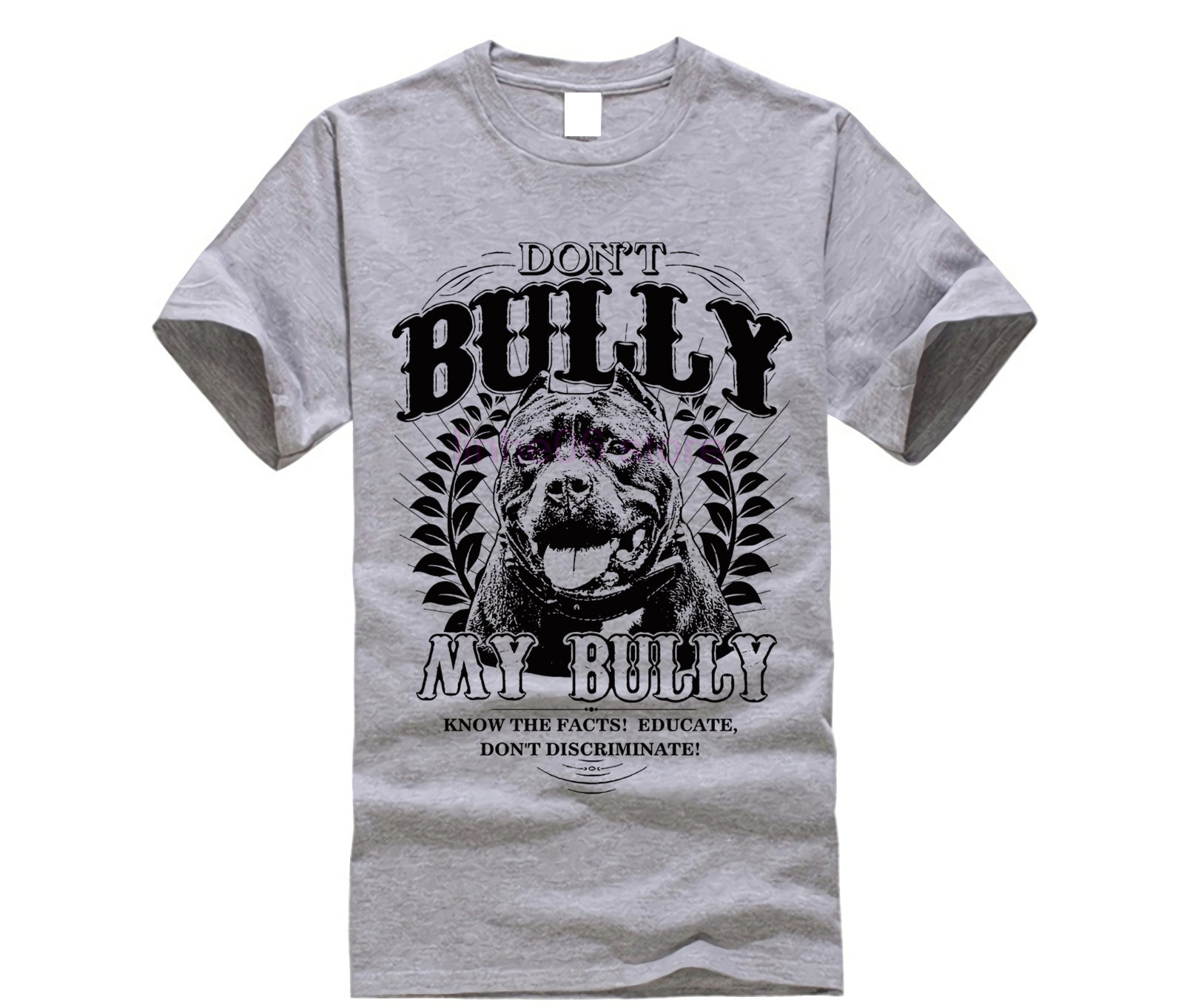 2019 New Arrival Tees Men 100% cotton T <font><b>shirt</b></font> Don't Bully My Bully <font><b>Pit</b></font> <font><b>Bull</b></font> Advocate for Pitbull lovers T <font><b>shirt</b></font> designer image