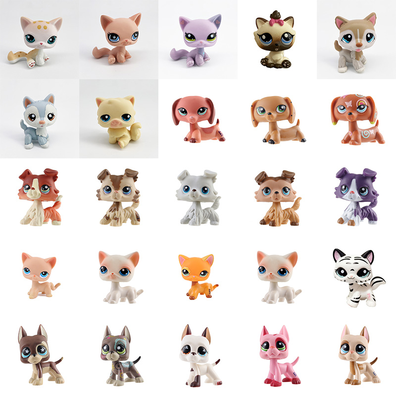 Littlest Pet Shop Custom um de um Tipo De Cachorro Cocker Spaniel Raro #2291 Littlest Pet Shop #79 Lindo Presente