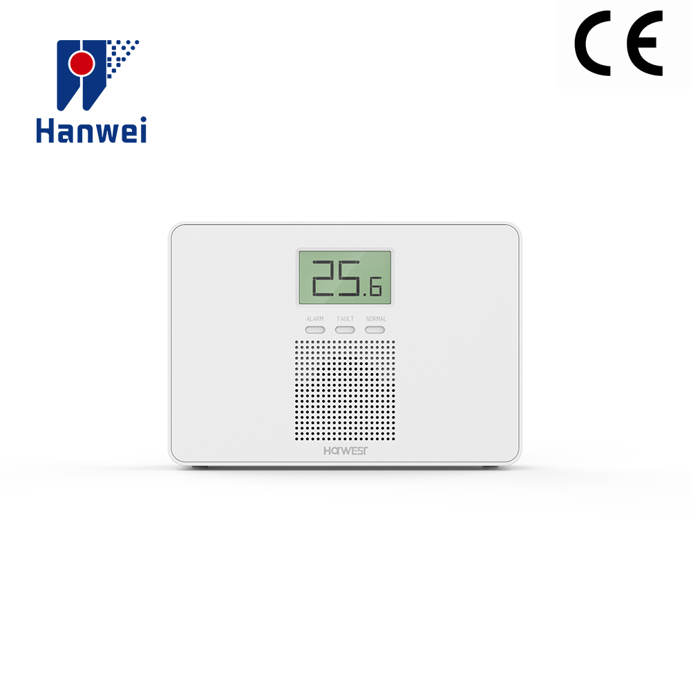 CE Approved HWI-001Domestic Carbon Monoxide Tester  CO Alarm 7 Years Sensor 85DB Battery Operated Home Security CO Detector