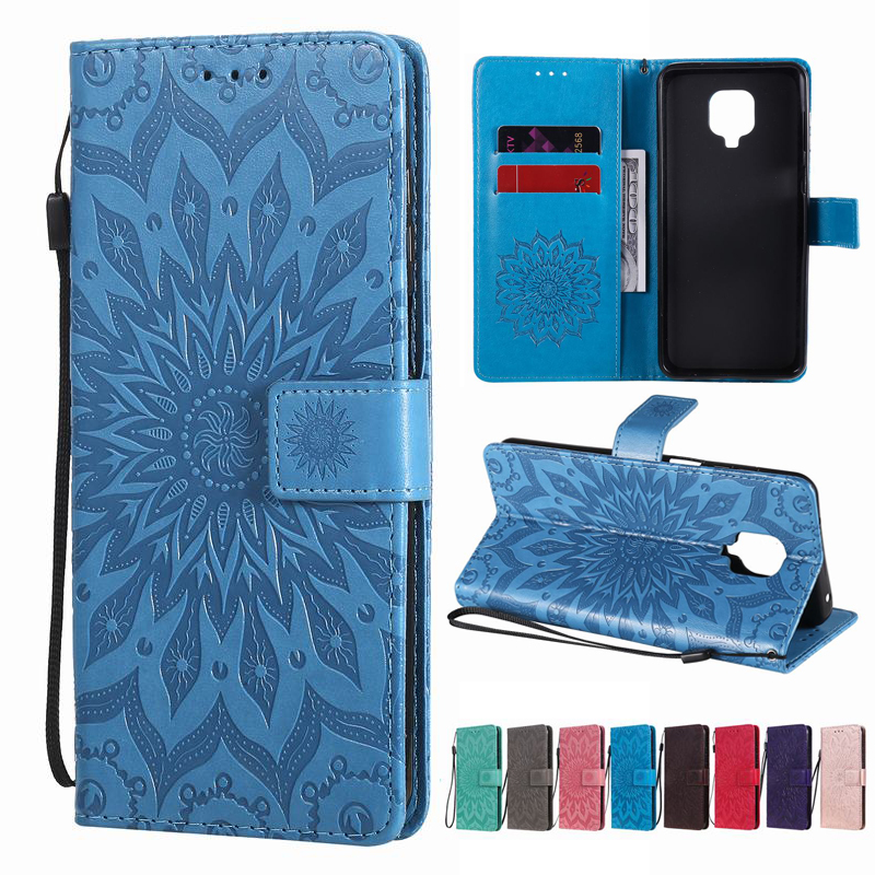 3D Case For Redmi 9 Note 9 Pro 9S Fashionable Phone Case With Landyard Full Cover Case For Xiaomi Redmi Note 9 S 9S Wallet Shell