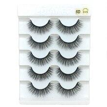 Natural Thick Eyelashes Long-Lasting Handmade 6D 3D QUXINHAO