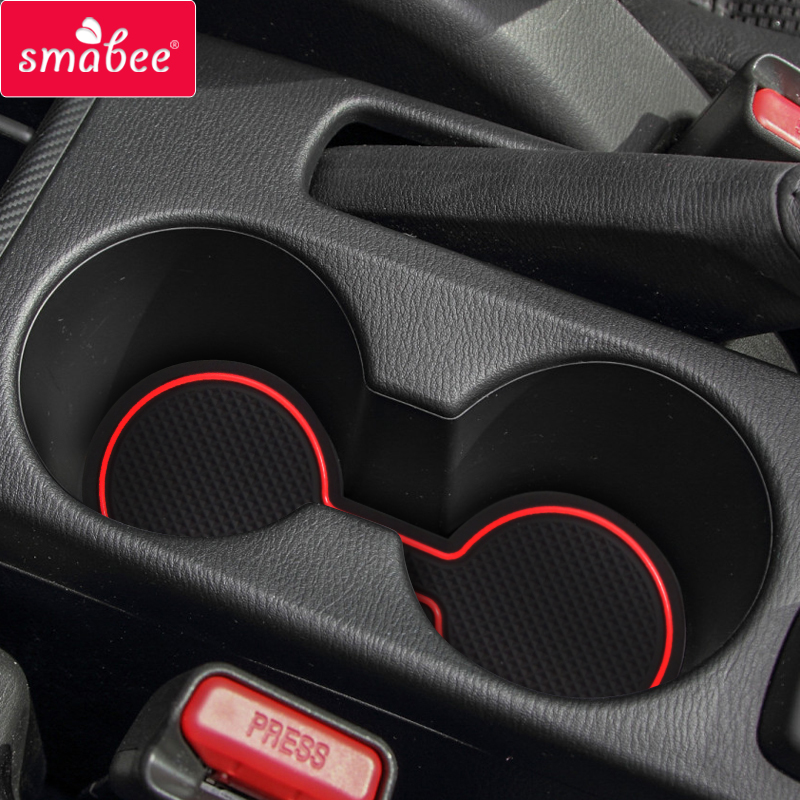 Smabee  Gate Slot Mats For Mazda BT-50 XTR UR DX GT SDX 2012-2018 BT50 Non-slip  Interior Door Pad/Cup Non-slip Mats 15pcs